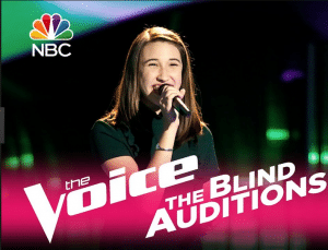 LRRS student, Hannah Eyre, to join the blind auditions of