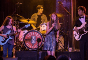 LRRS student bands live performance on stage
